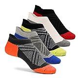 Cassiecy 5 Paar Sneaker Socken Herren Damen kurze Bunt atmungsaktiv Baumwolle Sportsocken, Größen: 35-39, 39-44 (35/39, Classic Colors)