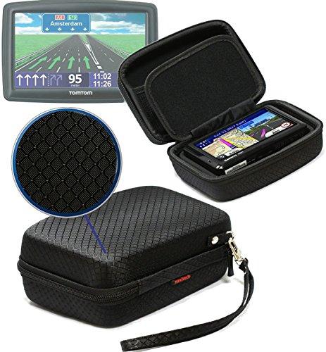 Navitech Schwarz Schock Sicher EVA Schutztasche / Abdeckung / Fall / Gehäuse für Texas Instruments TI 89 Calculator