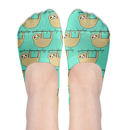 shengpeng25 Goldfish Women's Low Cut Athletic Socks No Show Socks Non Slip Flat Boat Line -