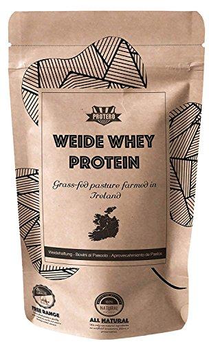 Protero Weide Whey Protein aus irischer Weidemilch - Primal - Neutral 1kg (Gras Gefüttert Whey Protein)