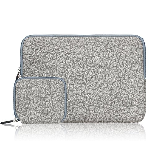 Arvok Wasserabweisend Laptop Sleeve mit Kleinen Fall, 13-13,3 Zoll Notebook Hülle Tasche Laptoptasche Laptophülle Schutzhülle für MacBook Pro Retina/Notebook 9 Pro/MacBook Air Retina 2018, etc - Notebook-tasche-kleber