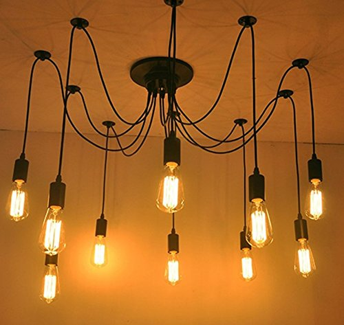 5X E27 LED Filament Bulbs Vintage Retro Edison 4W LED Light Bulb - 40W Equivalent - Warm White 2700K 220V-240V - Non-dimmable