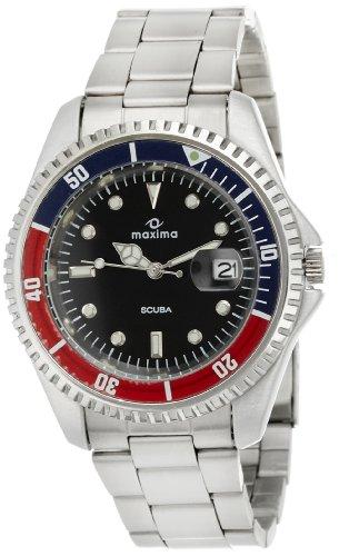 Maxima Attivo Analog Black Dial Men's Watch - 00456CMGI image
