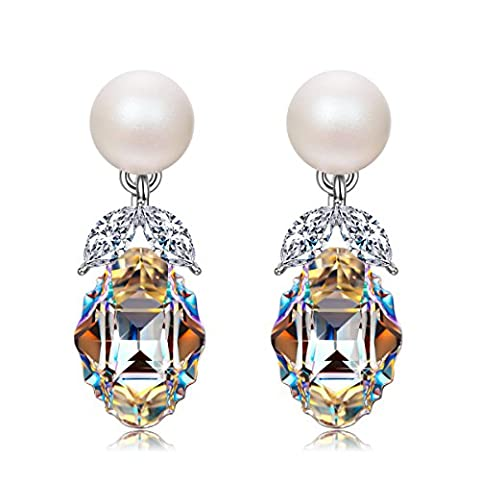 J.NINA Die Hochzeit des Figaro Ohrringe Damen mit kristallen von Swarovski Geschenk Geburtstagsgeschenke Weihnachtsgeschenke Muttertagsgeschenke Muttertag Valentinstag Geschenke für Frauen Freundin