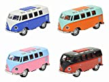 #10: Smartcraft Light Up Toy Bus - Multicolor (Pack of 1) , Friction Powered Light Up Bus for Kids