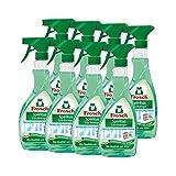 Frosch Spiritus Glas Reiniger Sprühflasche, 8er Pack (8 x 500 ml)