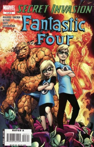 Secret Invasion: Fantastic Four #3A
