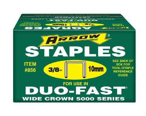 Arrow Fastener 856duo-fast 5000Serie 3/8Heftklammern, 5,000-pack (Duo-fast 5000 Serie)
