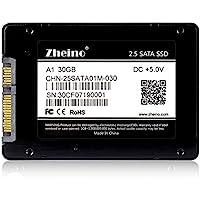 Zheino 2,5 pollici SATA III da 30GB SSD Solid State Drive (7mm) per Desktop Laptop