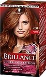 Schwarzkopf Brillance Intensiv-Color-Crème, 701 Kühler Topas Stufe 3, 3er Pack (3 x 143 ml)