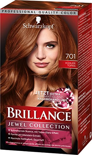 Brillance Intensiv-Color-Creme 701 Kühler Topas Stufe 3, 3er Pack (3 x 143 ml)