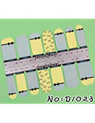 Stickers Nail patch ongles Autocollant - Noeud french - Nail art
