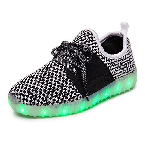 LED Couples Shoes Boys' Shoes Knit