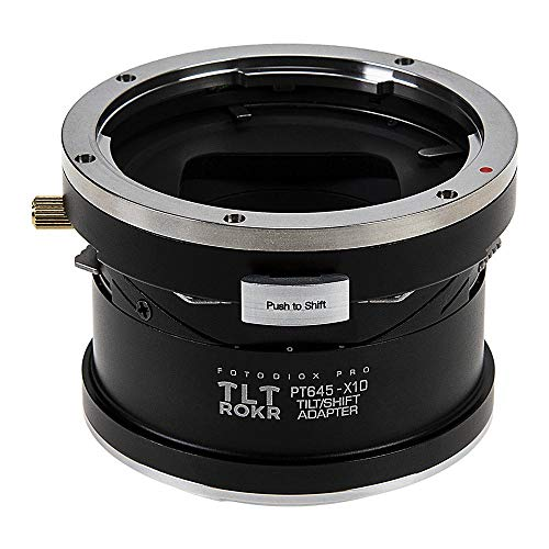 Fotodiox Pro TLT ROKR - Tilt/Shift Lens Mount Adapter Compatible with Pentax 645 (P645) Mount SLR Lenses to Hasselblad XCD Mount Mirrorless Digital Camera Systems Pentax 645