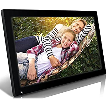 Nixplay Original 18 Inch Digital Wifi Photo Frame W18A - Wall-Mountable Digital Picture Frame with Motion Sensor and 10GB Online Storage, Display and Share Photos with Friends via Nixplay Mobile App