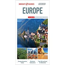 Insight Guides: Travel Map Europe (Insight Travel Maps)