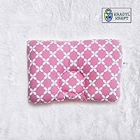Kradyl Kroft Head Sleeping Pillow for Baby (Happy Pink)