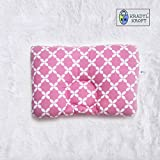 #6: Kradyl Kroft Head Sleeping Pillow for Baby (Happy Pink)