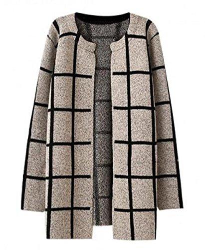womens-colorant-match-plaid-sweater-coat