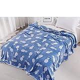 FOREVER-YOU Das Coral Fleece Decke Klimageräte Decke niedrig nap Doppel im Winter Dicke Decke,1,5 x 2 M,E