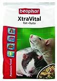 beaphar XtraVital Ratten Futter | Leckeres Futter für Ratten | Enthält Alfalfa | Mit Truthahn-Fleisch | Ohne Zusatz von Nüssen & Samen | 2,5 kg