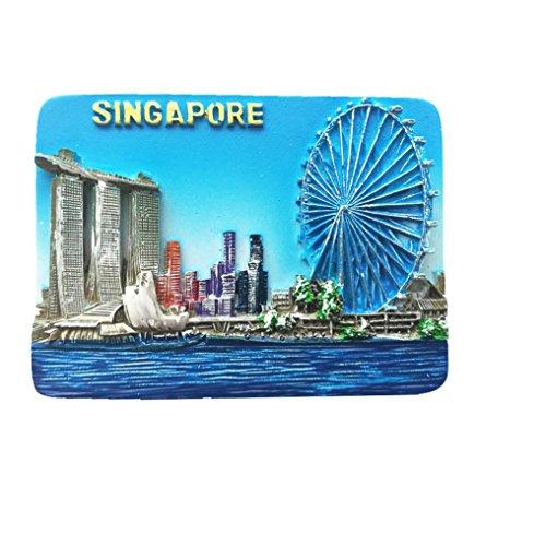 Magnet-Singapur Marina Bay, Touristen-Souvenir Geschenk, Promotion, Haus und Küche - Marine-magnet