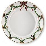 Royal Copenhagen Kuchenteller/Frühstücksteller/Dessertteller - Star Fluted Christmas - Porzellan - Ø 22 cm