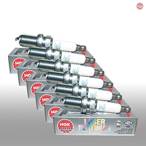Preisvergleich Produktbild 6x NGK Zündkerze 6840 Laser Platinum
