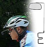 KOONARD 360°-drehbar, mit Spiegel, Rückspiegel für Fahrrad-Helm,