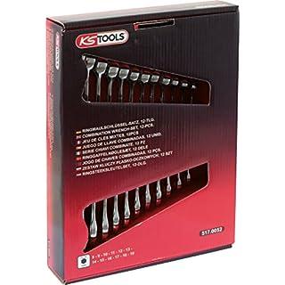 KS TOOLS 517.0052 Jeu de 12 clés mixtes en boîtes, Ø 8 à 19mm