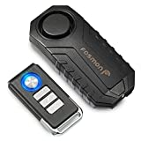 Fosmon Alarme Antivol Vélo, Alarme Trottinette Moto - Alarme Scooter Vibration sans Fil pour Velo, Quad, Moto, Trottinette, Sac,...