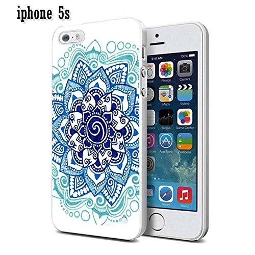 iPhone 5S Fall dseason Cute Schutzhülle Handy Case für iPhone 5S (2015)-Azteken Blumenmuster, Say (88)