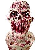 Die Maske der Blutrünstigen Menschen, Zombie Masken, Horror Masken, Volle Kopf Maske, Resident Evil Monster Maske, Zombie Kostüm Party Latex Maske Für Halloween