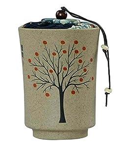 [Arbre] Boîte à thé en céramique Boîte à thé Boîte à thé Boîte à thé portative