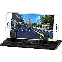 [New Generation] L&P A146 Universal Silikon Handyhalterung Antirutschmatte Auto Anti Rutsch Handy Matte Mehrzweck Haft Pad Haftpad Anti-Rutschmatte Handy Halterung Ständer für Smartphone wie iPhone 7 7 Plus 6s 6 5 4 Samsung Galaxy S7 S6 S5 S4