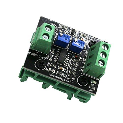 Spannung Strom Wandler (MagiDeal 1 Stück Spannung Zum Strom Modul Wandler Spannung auf Strom Signal Signalstrom Umwandler DC 12-24V - 0-5 V zu 4-20 mA)