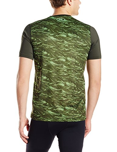 Under Armour Herren Raid Short Sleeve Tee Fitness-T-Shirts & Tanks grün (Combat Green)