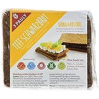 3 PAULY Teff Schwarzbrot  - glutenfrei, 3er Pack (3 x 500 g)