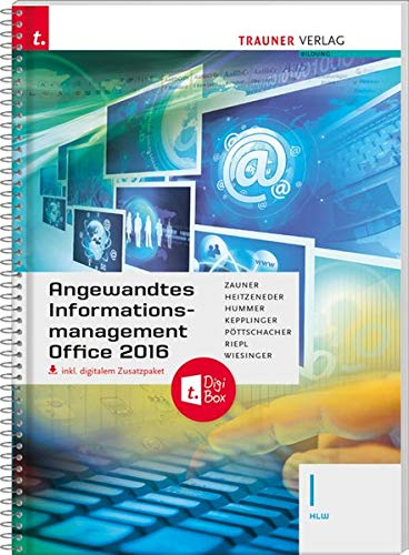 Angewandtes Informationsmanagement I HLW Office 2016 inkl. Übungs-CD-ROM