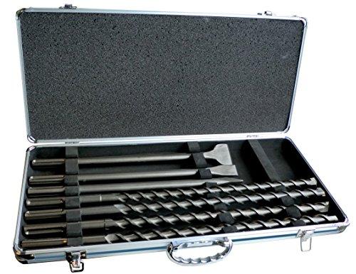 Makita Punte per trapano SDS-max con scalpelli, 7pezzi, D-42494