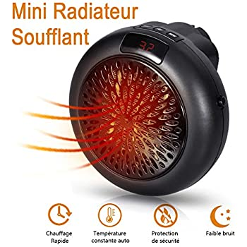Radiateur soufflant salle de bain mini chauffage Petit chauffage electrique salle de bain