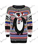 MyMix Trendz - Ladies Mens Unisex Knitted Christmas Sweater Jumper Top