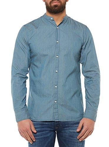 SELECTED Shnonerobert Hemd Blau