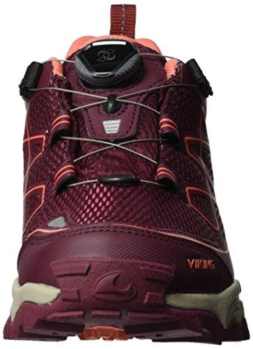 Viking Damen Anaconda Boa Iv Gtx Trekking-& Wanderhalbschuhe Rot (Wine/Coral)