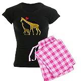Best CafePress Bottom Giraffes - CafePress Love Giraffes - Womens Novelty Cotton Pajama Review