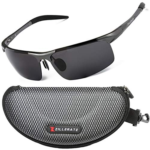ZILLERATE Polarisierte Sonnenbrille für Damen und Herren