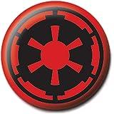Distintivo autentico a forma di simbolo dell'impero di Star War