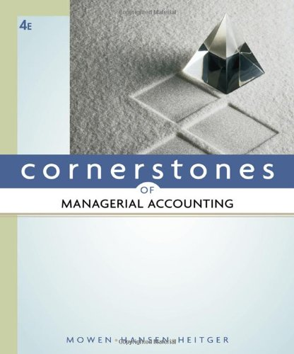 Accounting pdf cornerstones of managerial