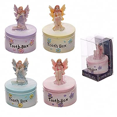 Cute Tooth Fairy Trinket & Treasures Pot