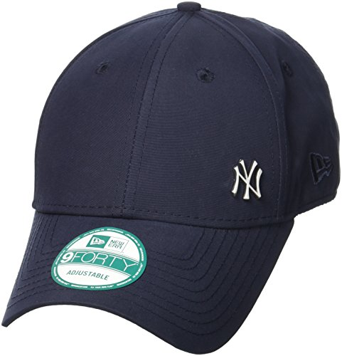New Era Cap MLB Flawless Logo Basic, Navy, OSFA, 11198848 (Verstellbar Navy Cap)